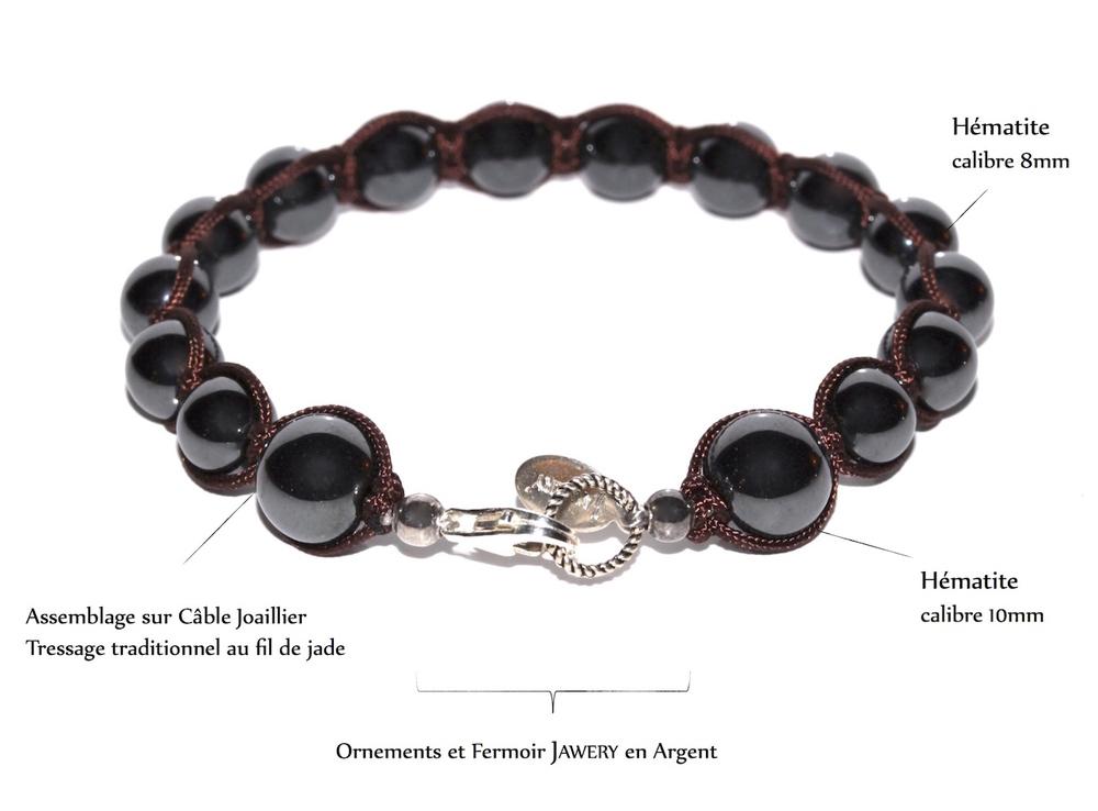 Bracelet Magnetism de l'atelier JAWERY