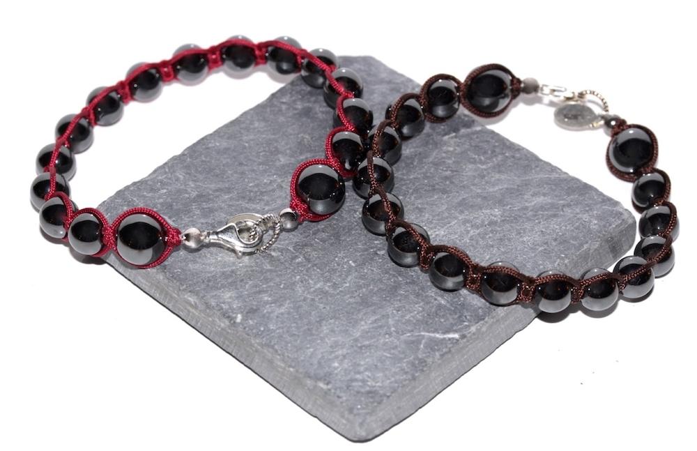Bracelets Magnetism en Hématite et Argent