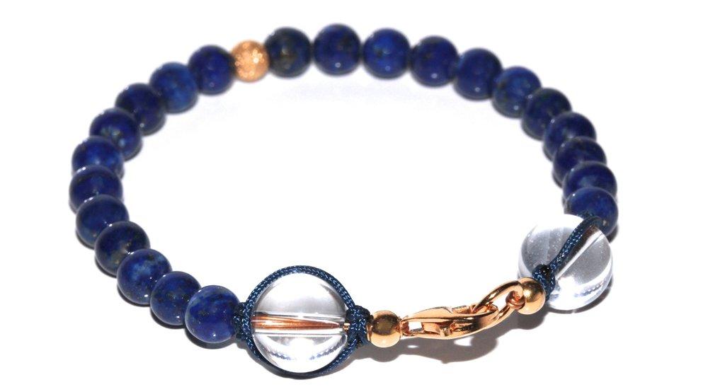 Atelier Jawery - Bracelets en Lapis Lazuli et or