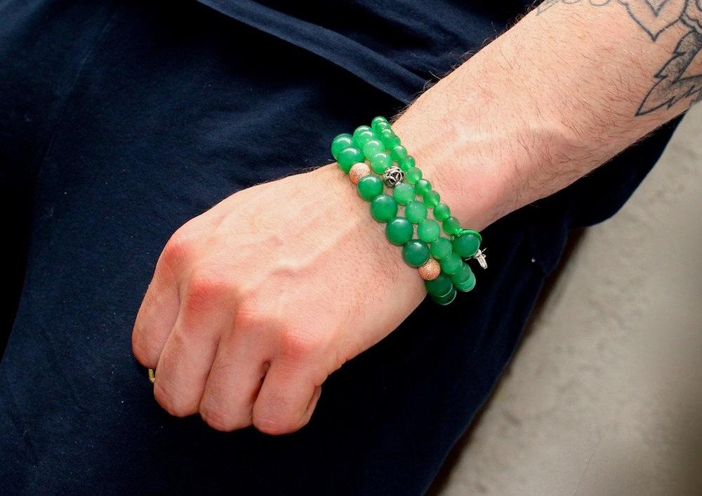 Poignet moyen : 18 à 20 cm La taille standard des poignets masculins