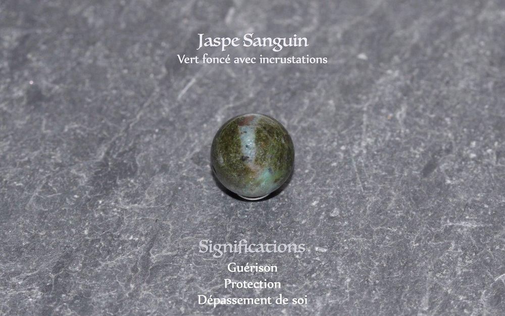 JAWERY - Jaspe Sanguin