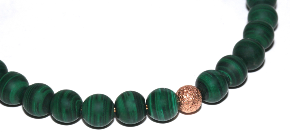 Atelier Jawery - Malachite et Or Rose