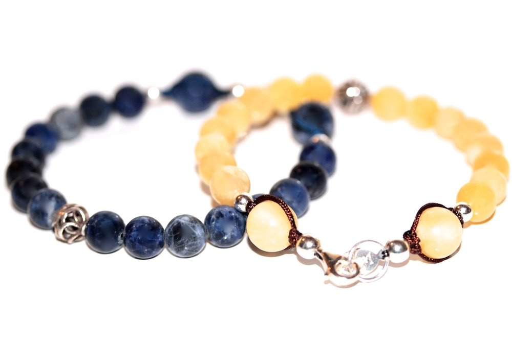 Aequilibrium bracelets from atelier JAWERY