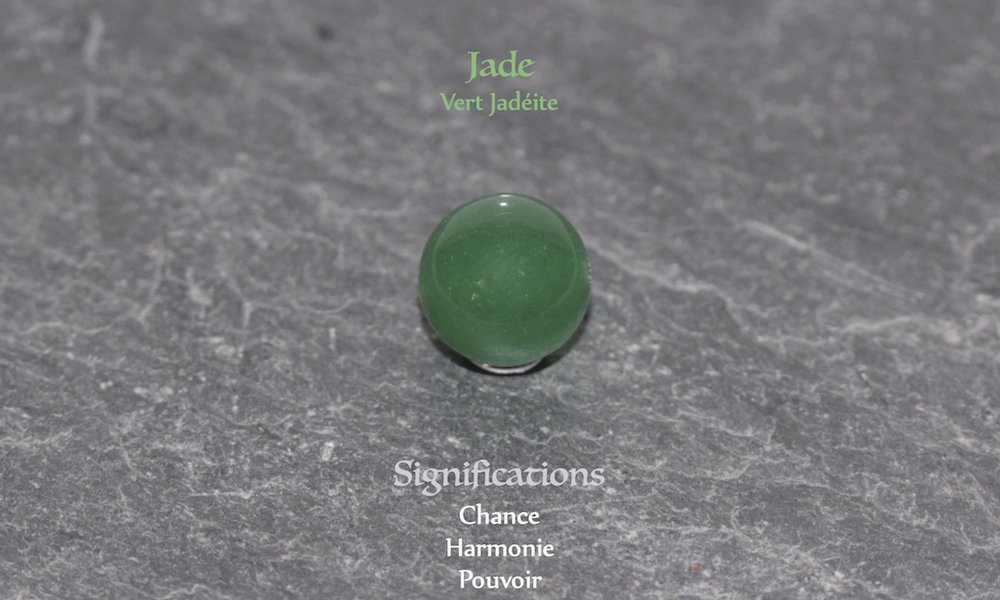Healing powers of Jade from JAWERY