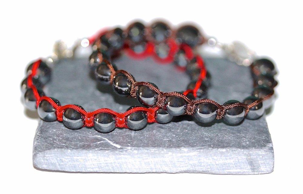 Hematite bracelets from Atelier JAWERY Paris