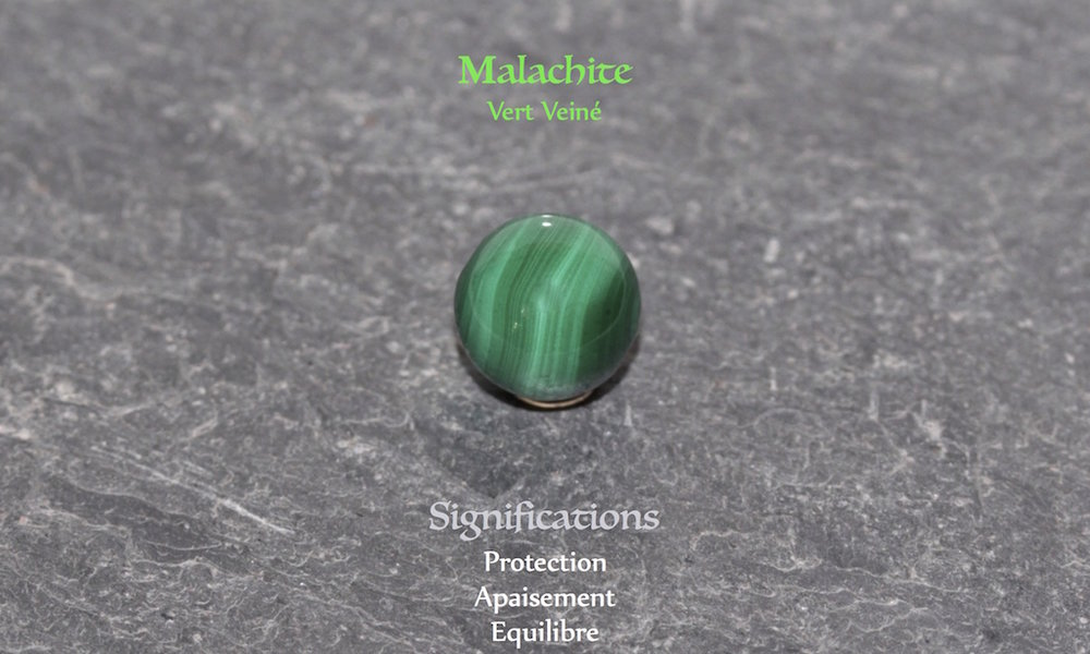 Healing powers of Malachite from Atelier JAWERY