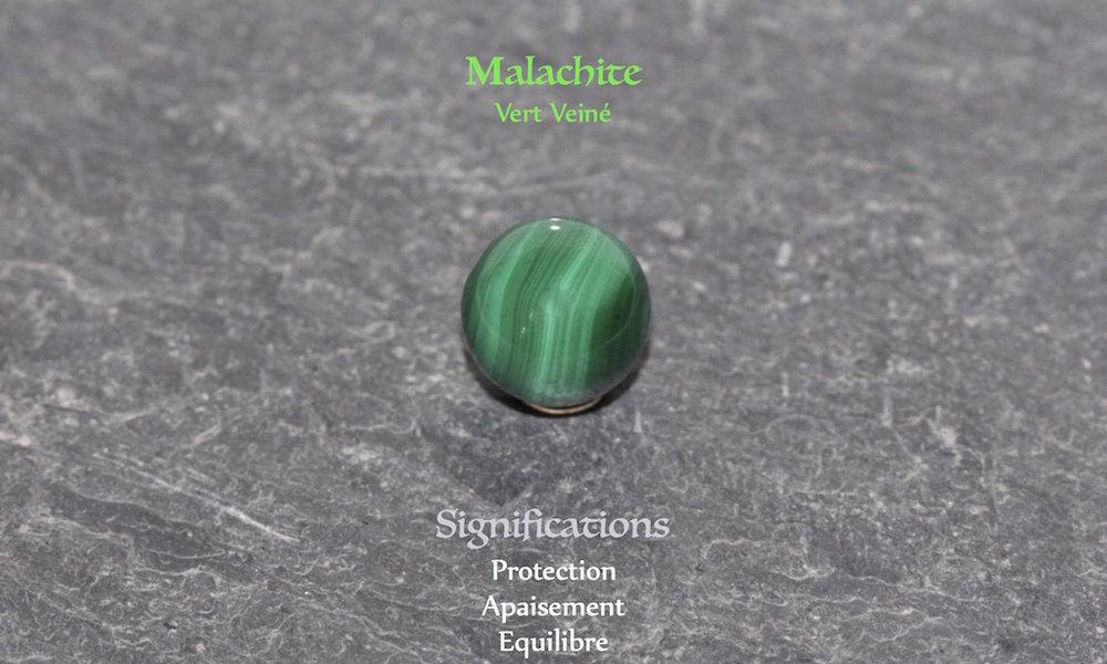 Healing powers of Malachite from Atelier JAWERY