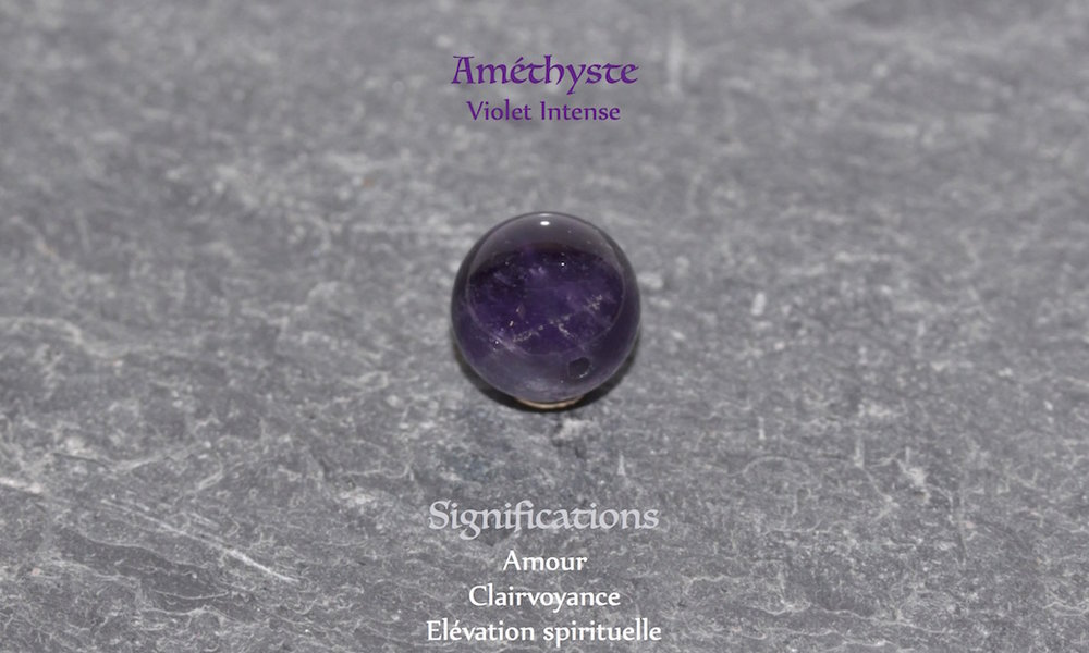 Healing powers of Amethyst from Atelier JAWERY