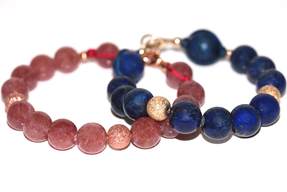 Precious bracelets from Atelier JAWERY Paris