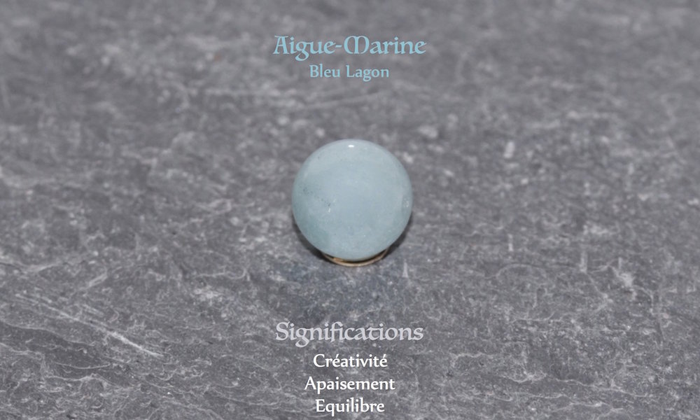 Healing powers of Aquamarine from Atelier JAWERY