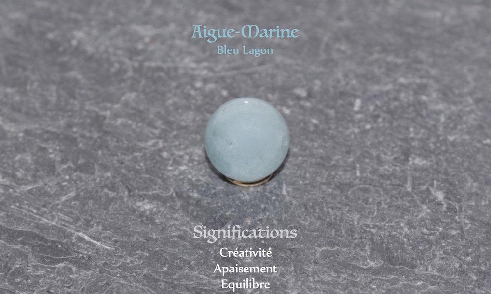 Healing powers of Aquamarine from Atelier JAWERY
