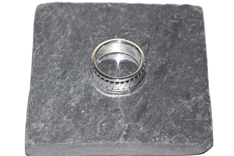 Bague mixte argent Atelier JAWERY