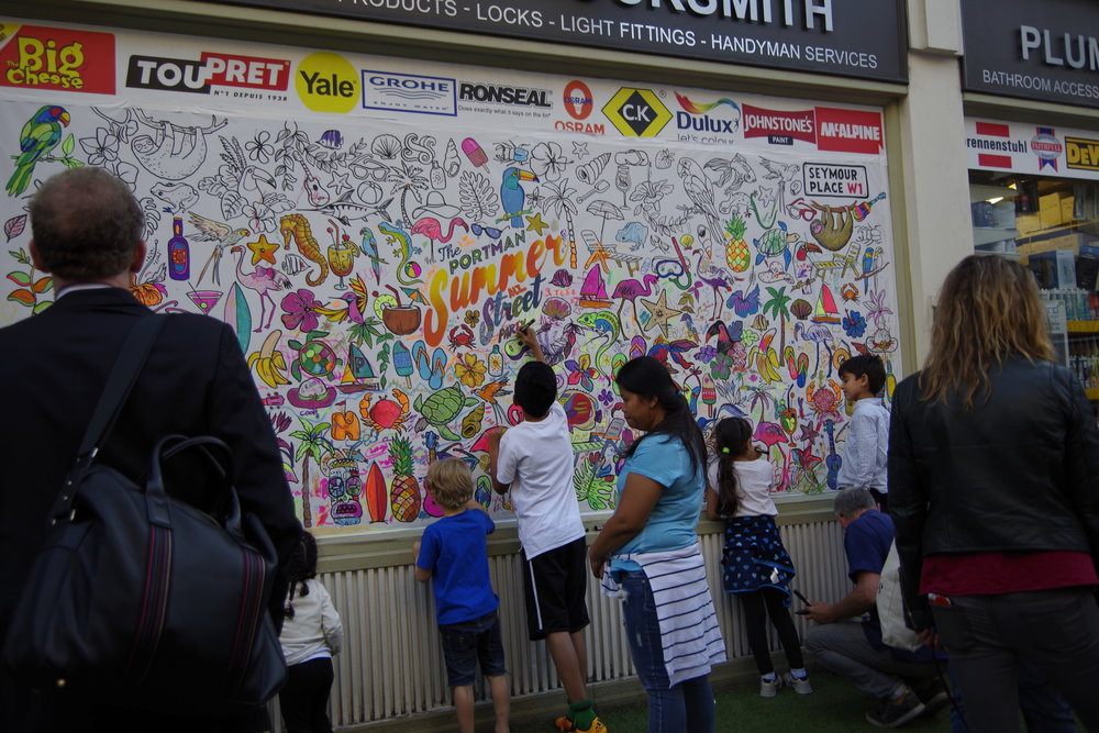 Regent Street Summer Street - 16/07/2014