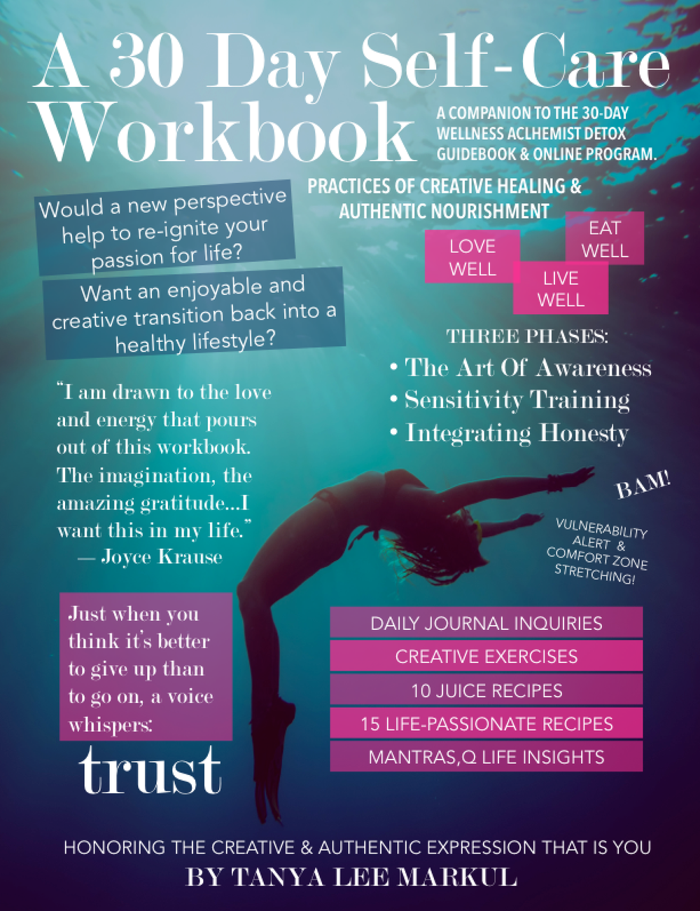 CREATIVE WELLNESS WORKBOOK. Purchases can only be made using the linkhereand using the password (all caps) SPRING2015.