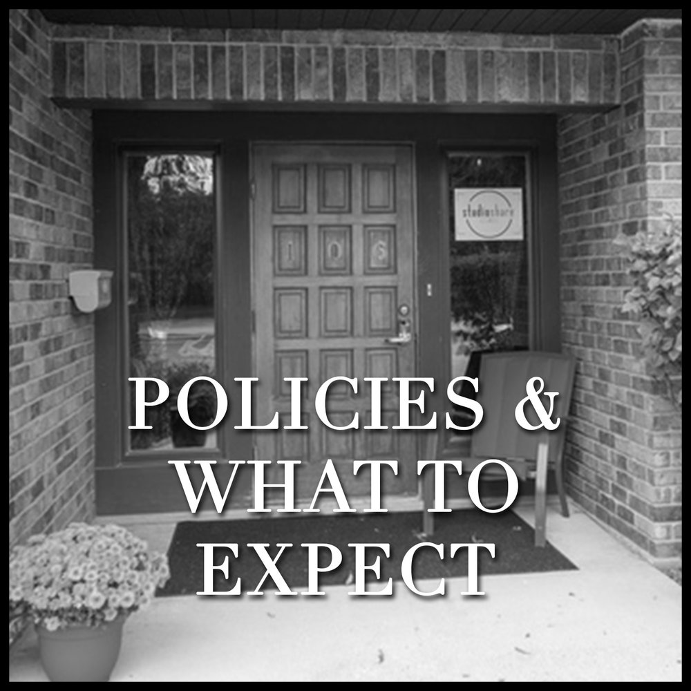 POLICIES & WHAT TO EXPECT What you can expect when working with Ashley Nicole from the consultation, the photo shoot, to the same day reveal & ordering session as well as rescheduling policy and copyright information can be found here.