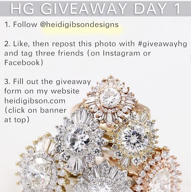 You don't want to miss out on this! #giveawayhg @heidigibsondesigns she's my favorite designer...EVER!!!