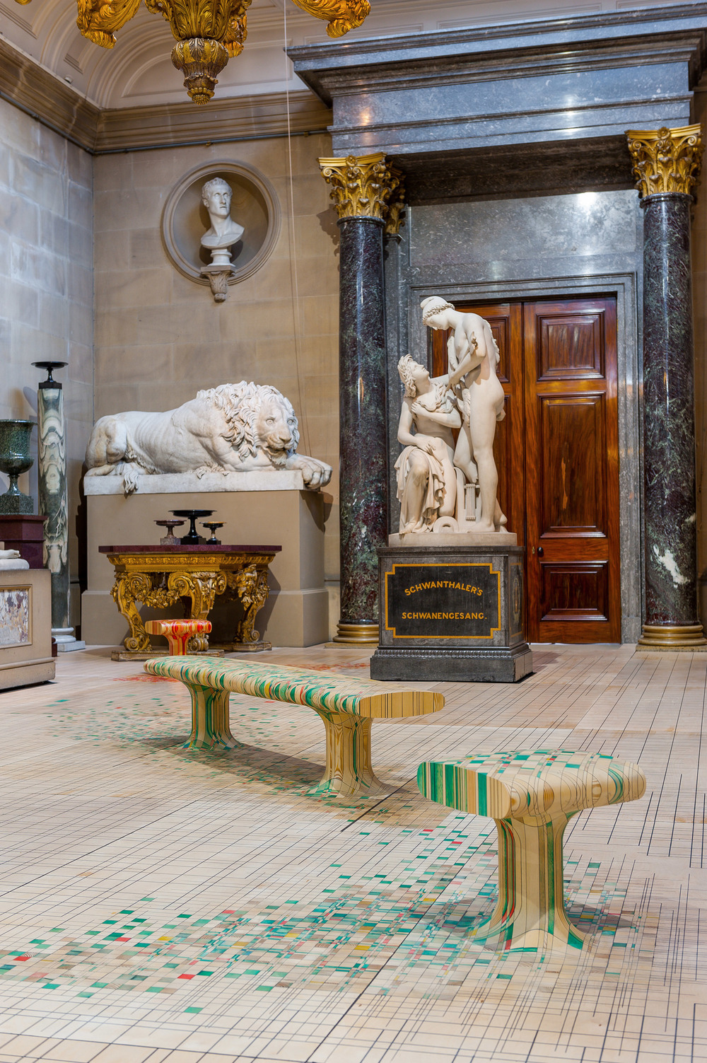 ... Home Chatsworth House Commissioned Us To Create A Piece Inside Its 19th  Century Sculpture Gallery As Part Of An Exhibition Of Seat Furniture Named  «Make ...