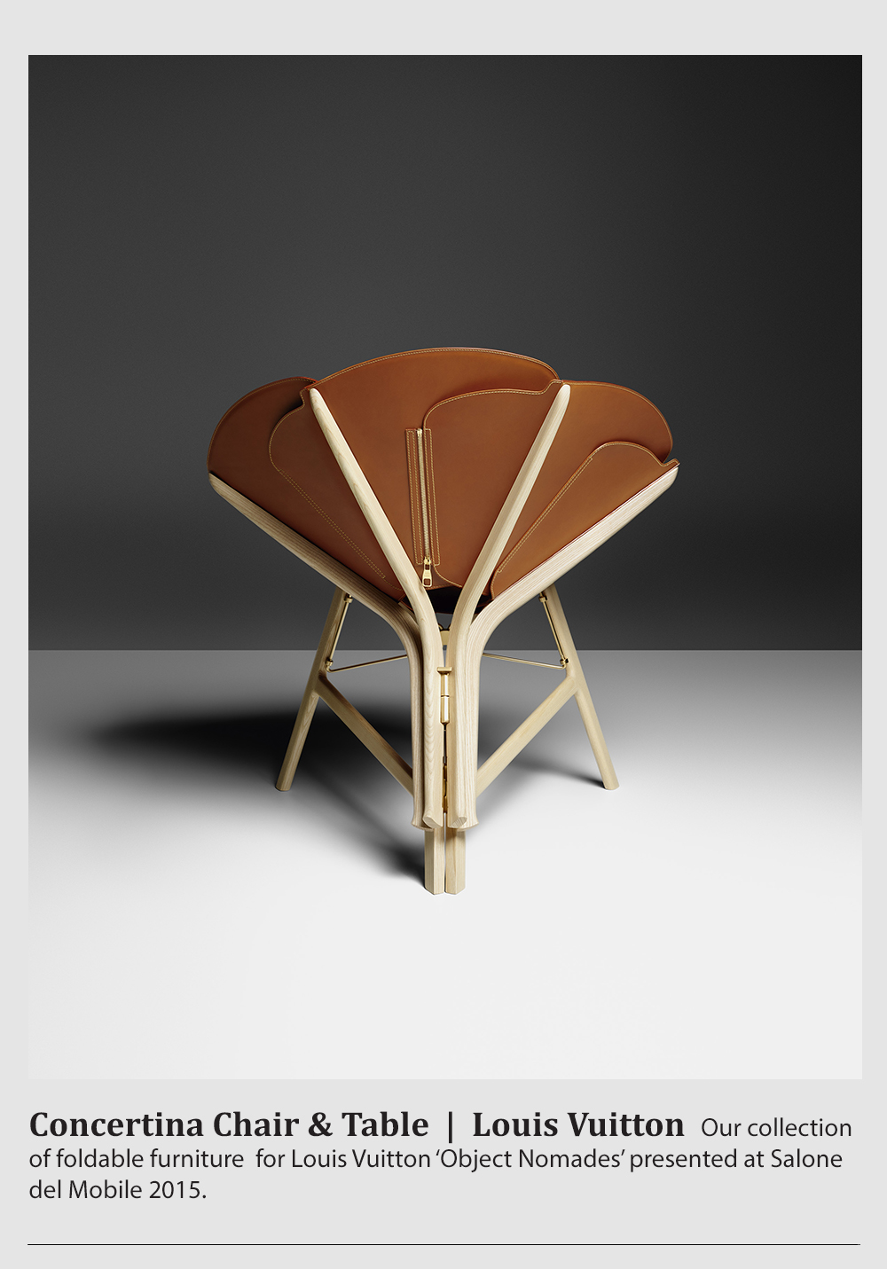 Concertina Chair And Table