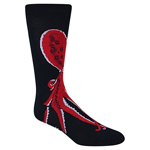 "19. ""SOCK-TOPUS"" MEN'S SOCKS €12.00 Comfy, quirky and stylish men's socks with octopus design."