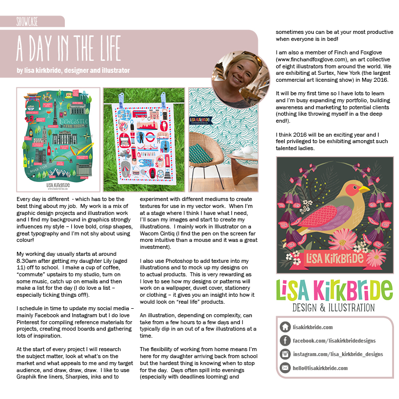 Design Crumbs Magazine - January 2016 - Promotion Lisa Kirkbride.jpg