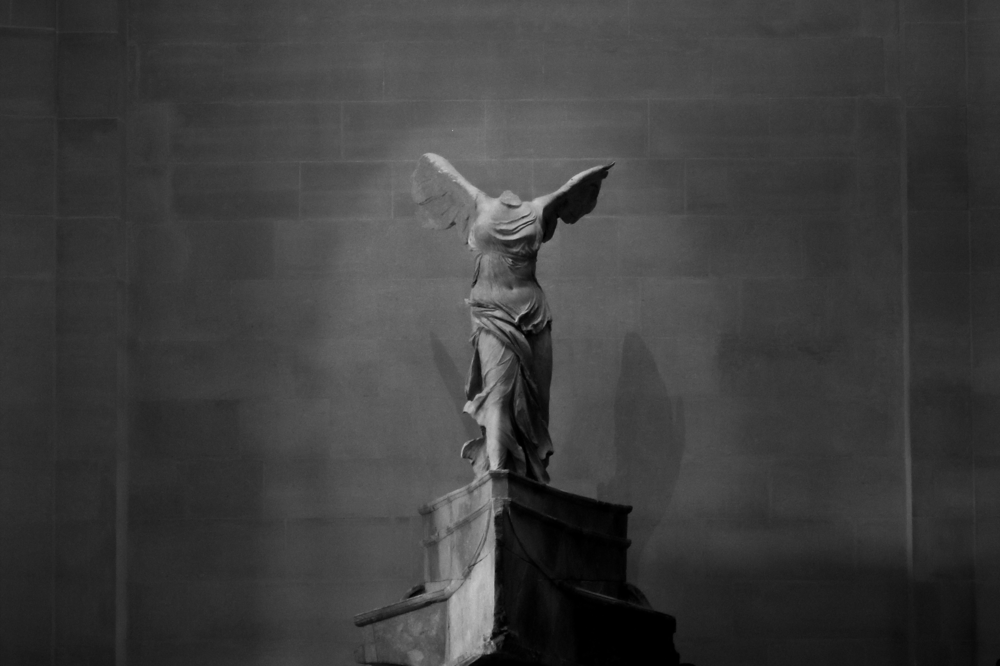 Winged Victory of Samothrace, Louvre 2015
