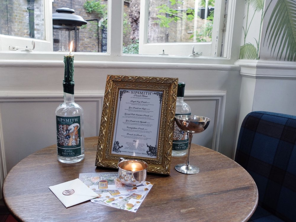 Sipsmith cocktails