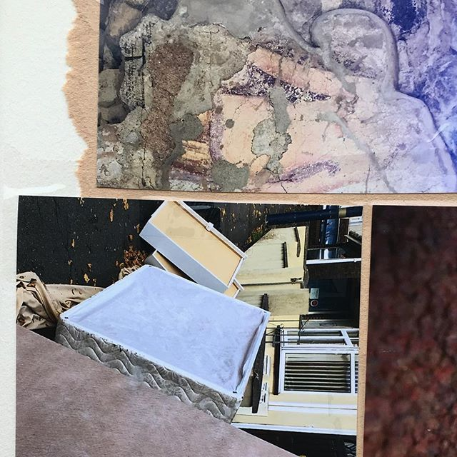 Book response one. Photo assemblage in response to text ⛰🌋🏔