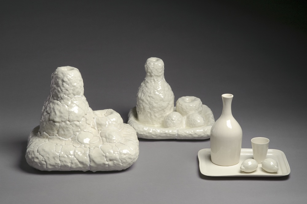 Normal   0       21       false   false   false     NO-BOK   X-NONE   X-NONE                                                                                                                                                                                                                                                                                                                                                                         Porcelain, plaster, hand-build and casting, 120 x 35 x 37 cm