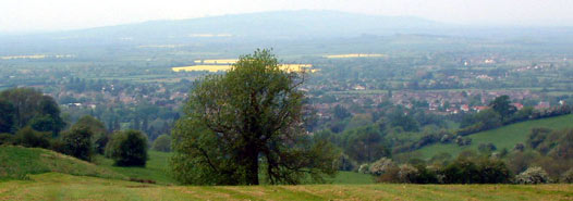 One of the Views when Walking the Cotswold Way from Chipping Campden to Broadway