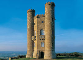 Broadway Tower beautiful walks and views