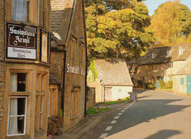 Snowshill Arms Pub near Broadway Cotswolds