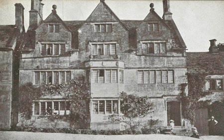 Tudor House 1906 Broadway Worcestershire Cotswolds