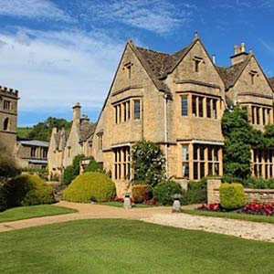 Buckland Manor 15 bedrooms 2 meeting rooms Largest for up to 40 guests