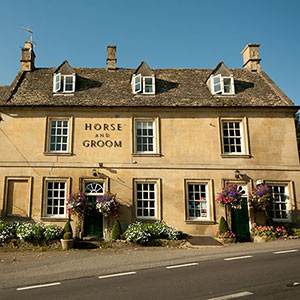 The Horse and Groom Bourton-on-the-Hill 7.5 miles to Broadway