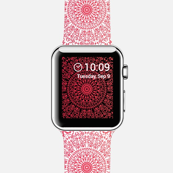 CASETIFY-APPLE -WATCH - CORAL BOHO MANDALA.jpg