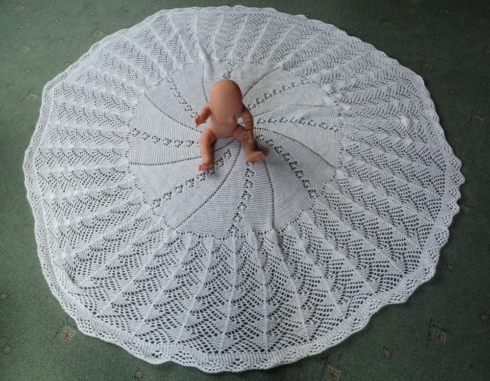 Machine Knitting Patterns Baby Shawl 79