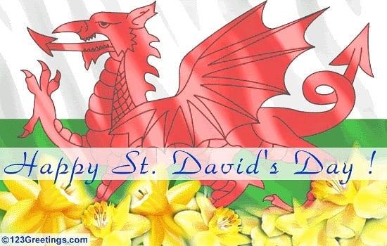 Happy St David's Day!!!