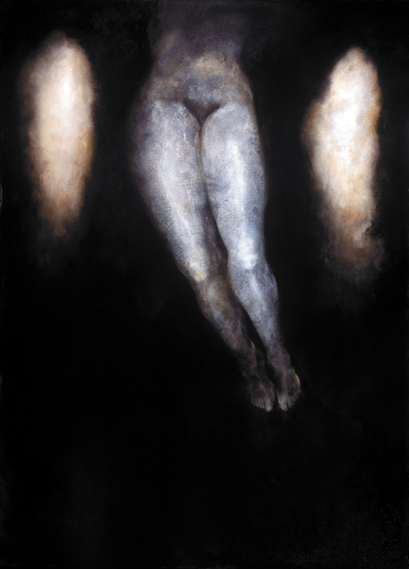 Study for Woman with Clouds  Oil on canvas 66 X 48 inches 2005