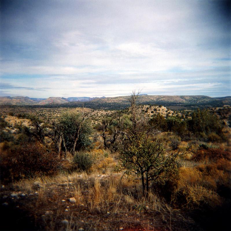 Desert Landscape I  C-print 12 X 12 inches 2008