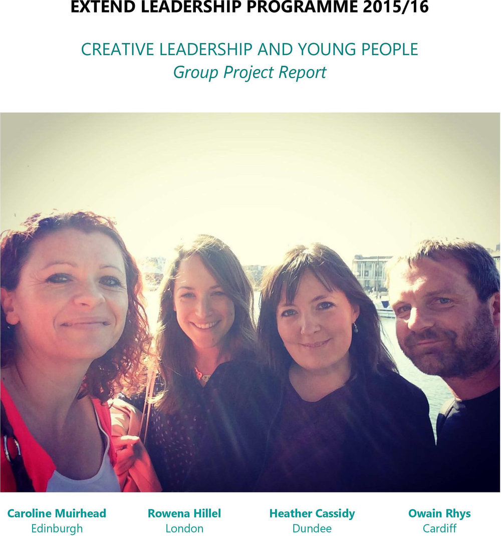 Creative Leadership and Young People Report