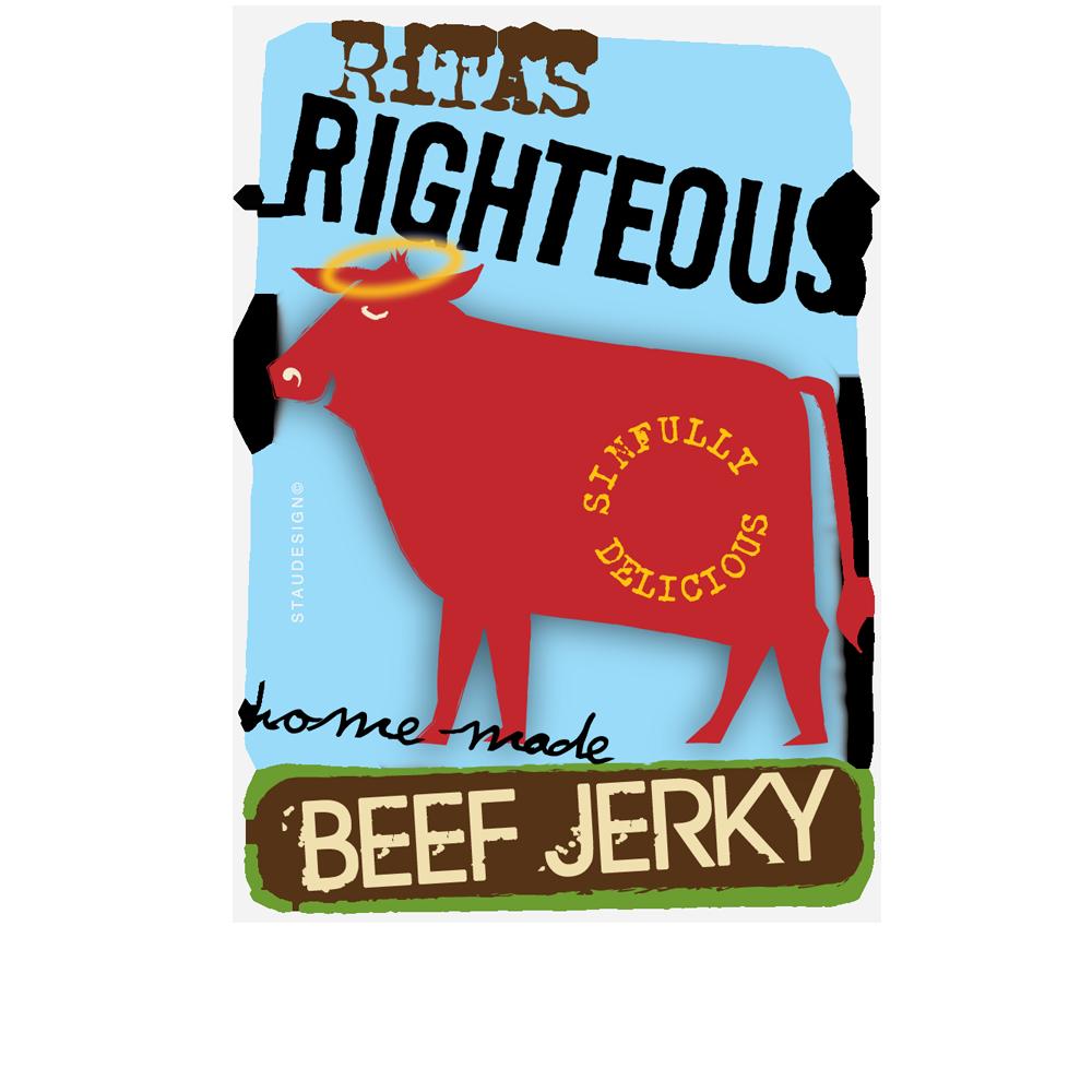 Beef Jerky Label