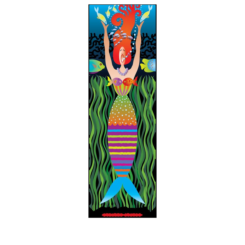 Ethel Mermaid Poster