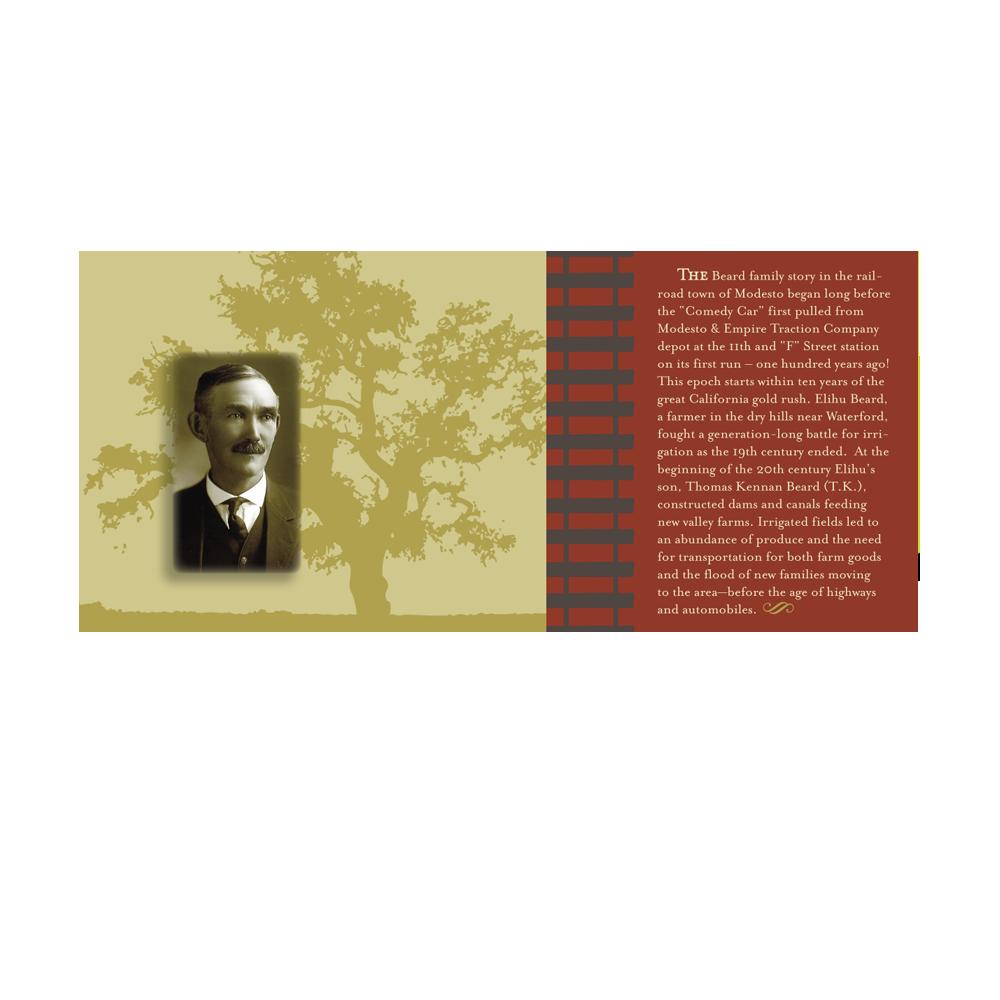 Modesto & Empire Traction Co. Brochure (Page 1)