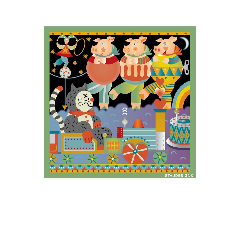 Antique Toyland Fabric