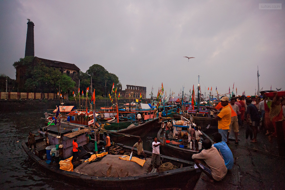 Sassoon Docks, Mumbai  (Bombay)