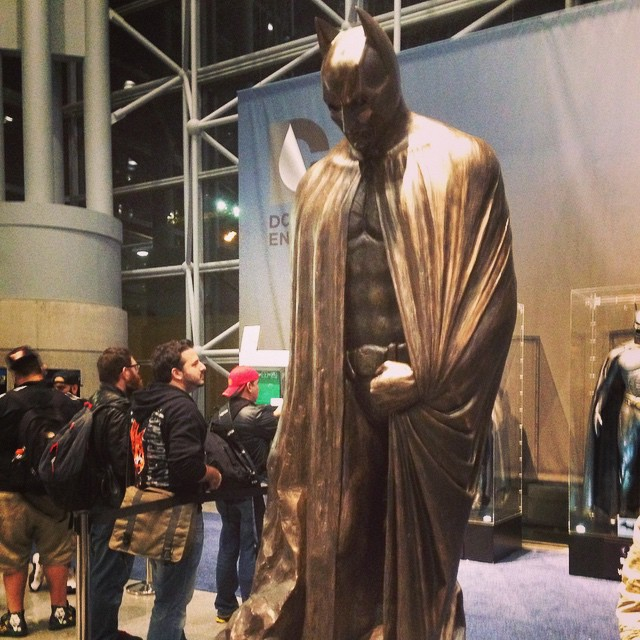 The one to remember. Batman. #NYComicCon #2014 #batman #dc #comics #pigtailstudio