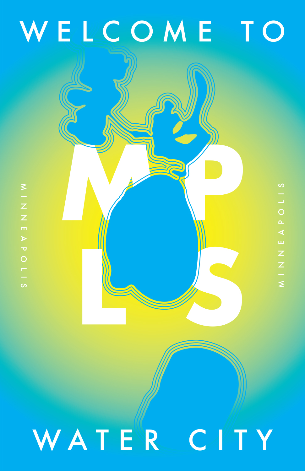 Minneapolis Travel Poster (2013)
