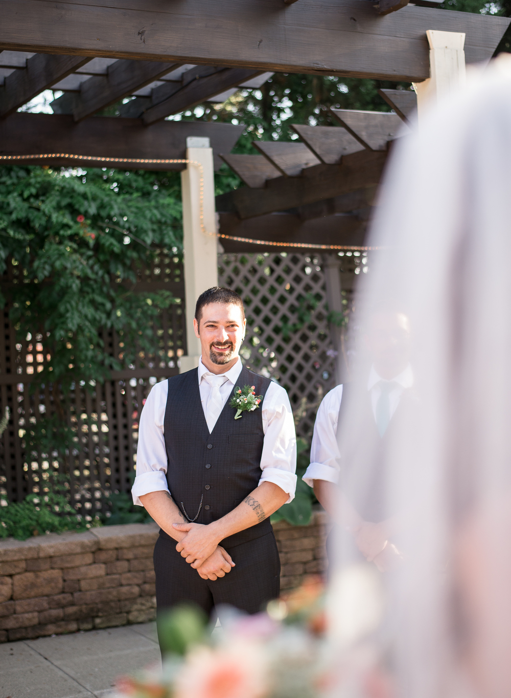 First Look - Bethlehem Wedding Photographer