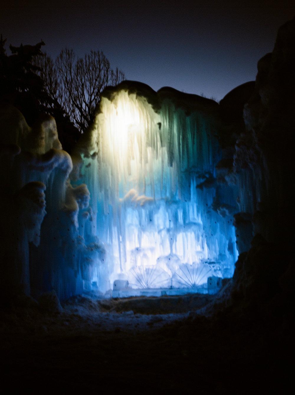 ice castles in provo utah