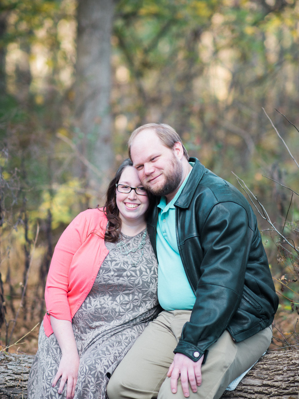 jacobsburg engagement session